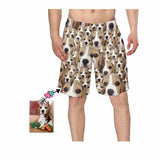 Custom Face Dog Photo Swim Trunk