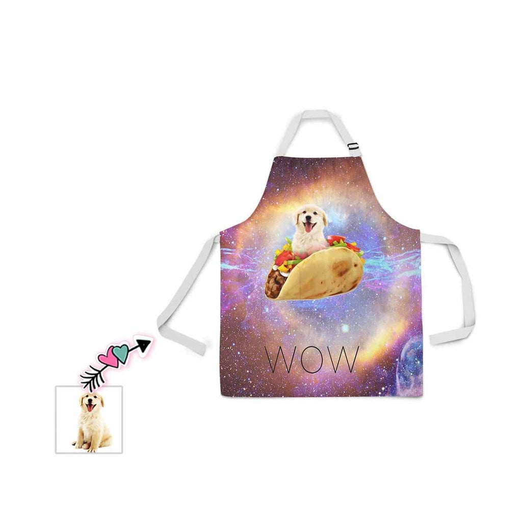 Custom Face Wow All Over Print Adjustable Apron