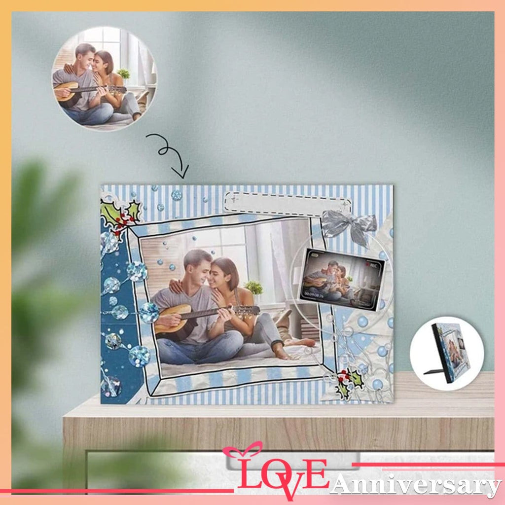 Custom Photo Take Pictures Photo Panel for Tabletop Display