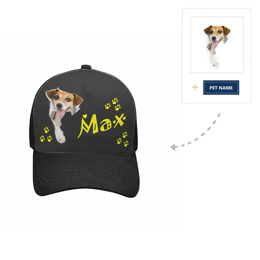 Custom Dog Name Unisex Baseball Cap