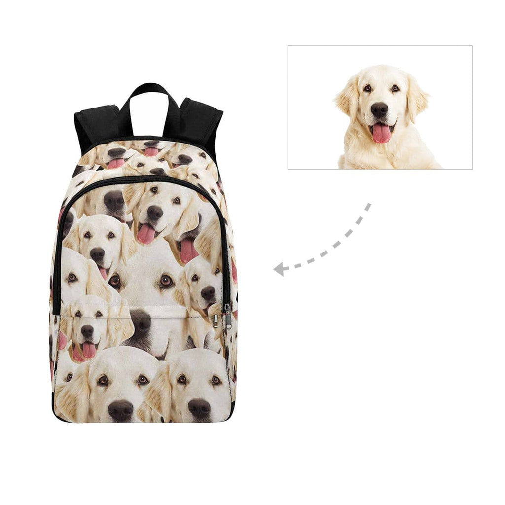 Custom Golden Retriever Backpack