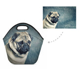 Custom Dog Neoprene Lunch Bag