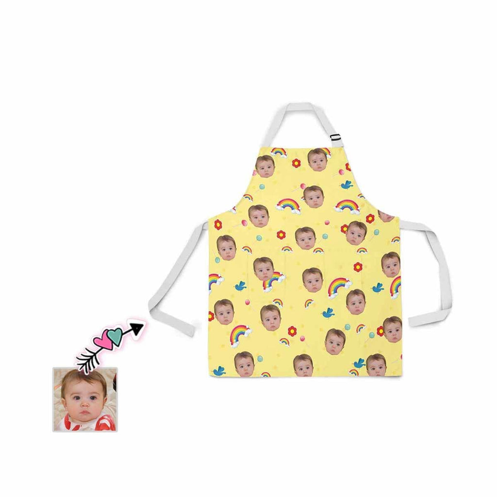 Custom Face Baby All Over Print Adjustable Apron