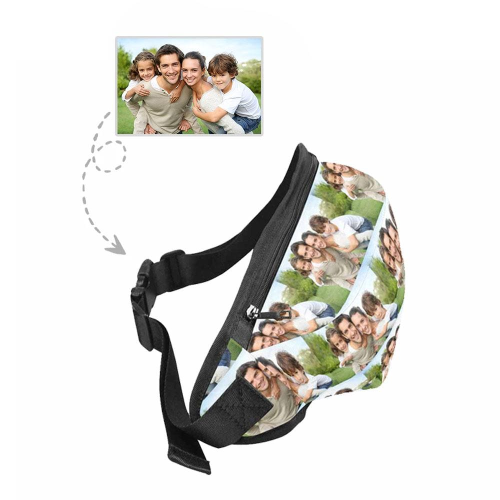 Custom Photo Design Waist Bag