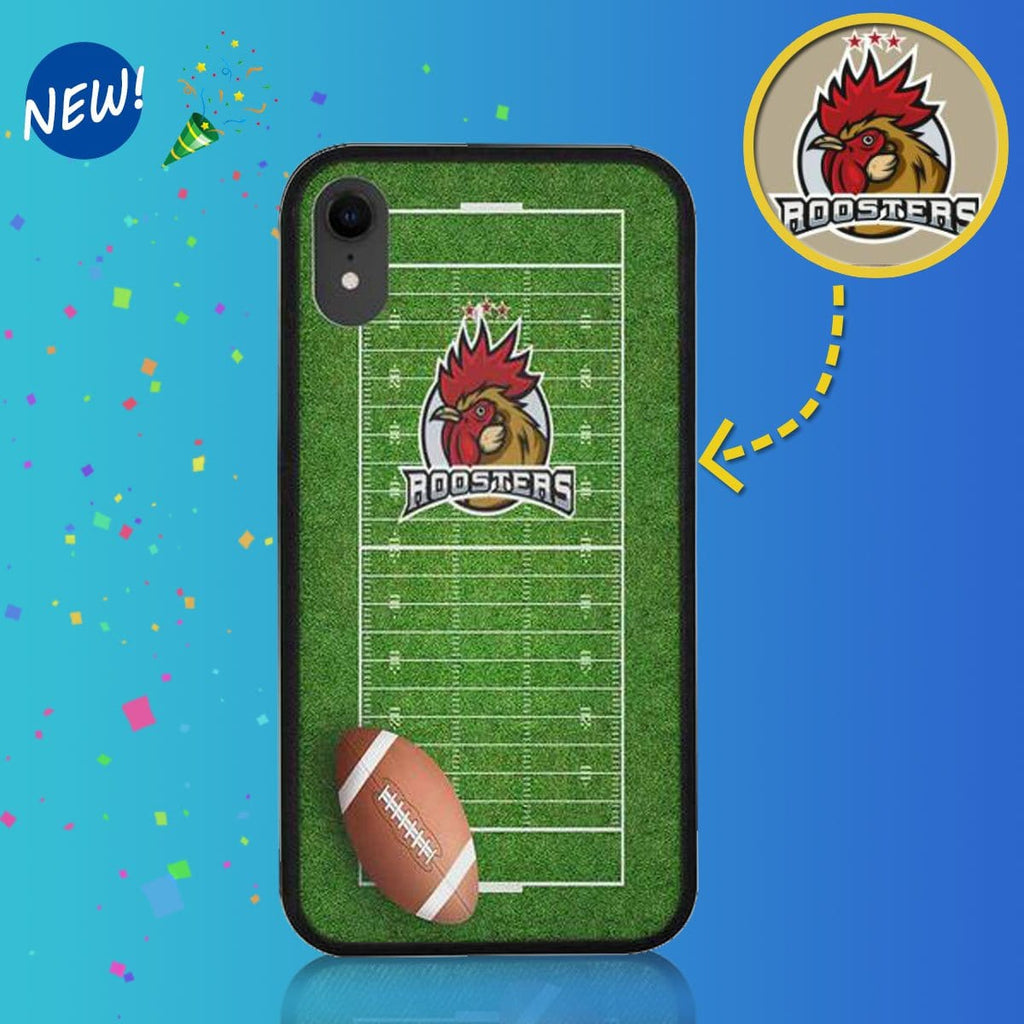 "Custom Sports Team on Rubber Case for Iphone XR (6.1"")"