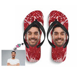 Custom Face Meat Flip Flops