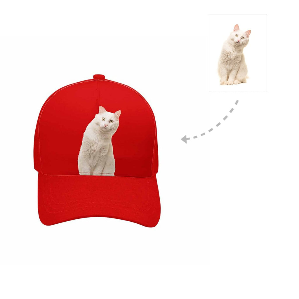 Custom Angora Cat Unisex Baseball Cap
