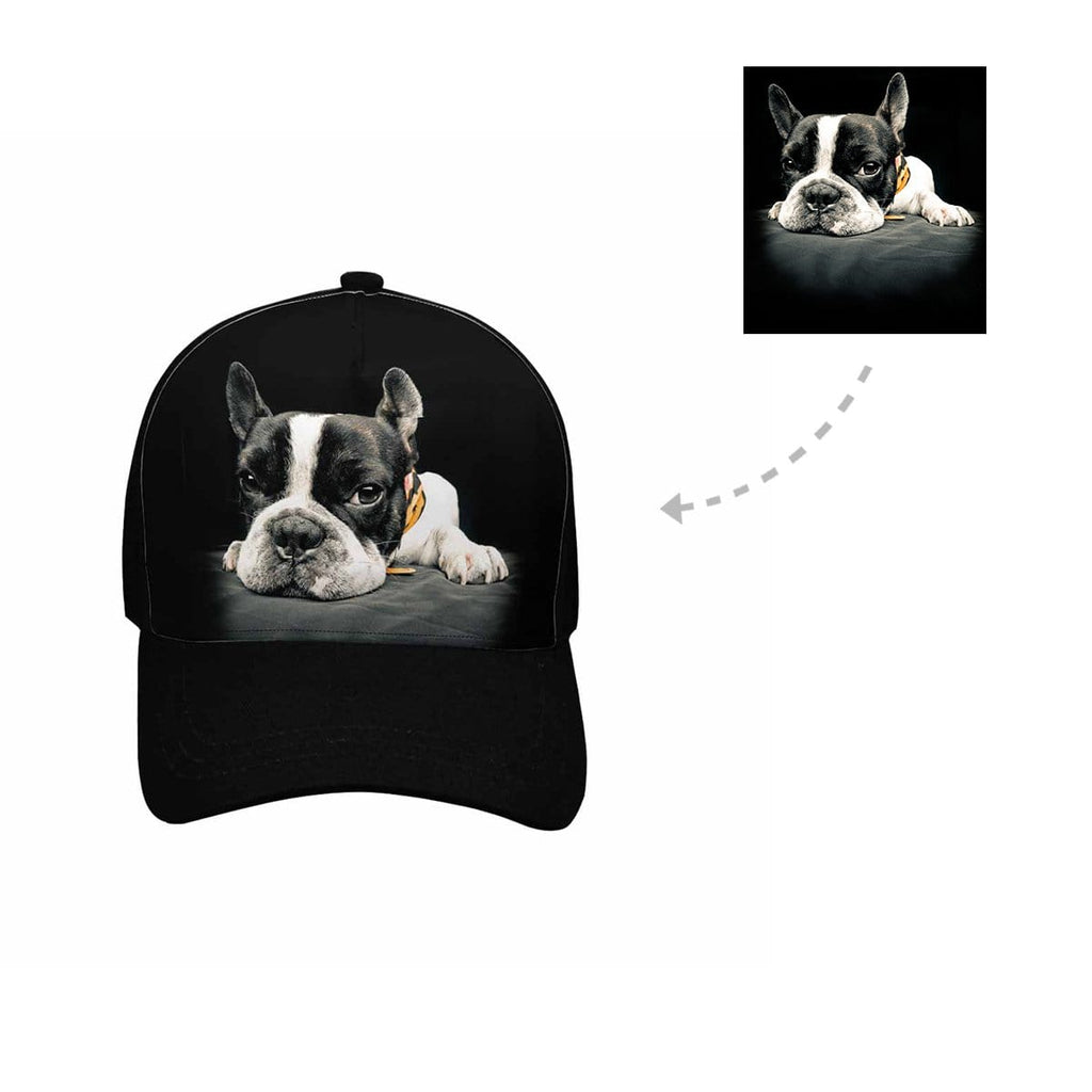 Custom Dog Photo Unisex Baseball Cap