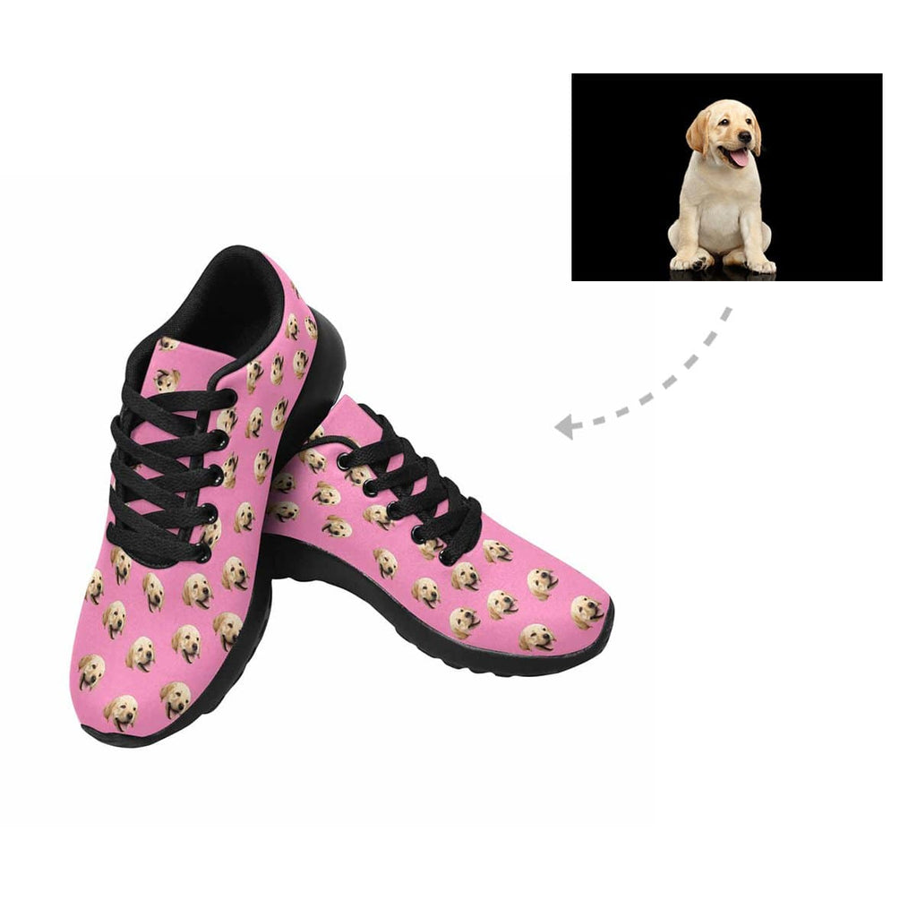Custom Labrador Retriever Face Women's Sneaker