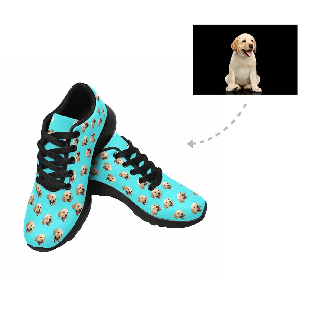 Custom Labrador Retriever Face Men's Sneaker