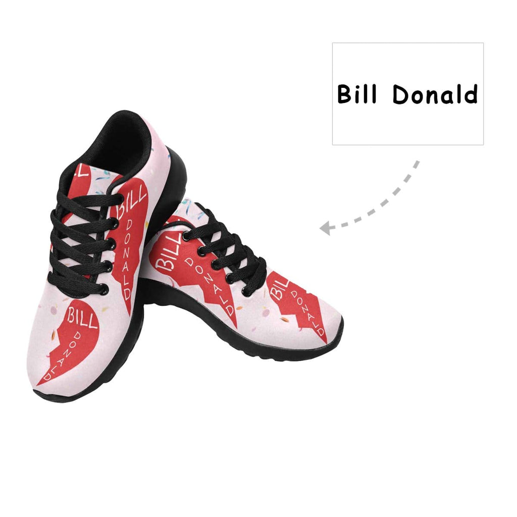Custom Name Couple Women's Sneaker