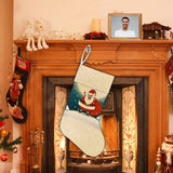 Custom Face Santa Claus Christmas Stocking