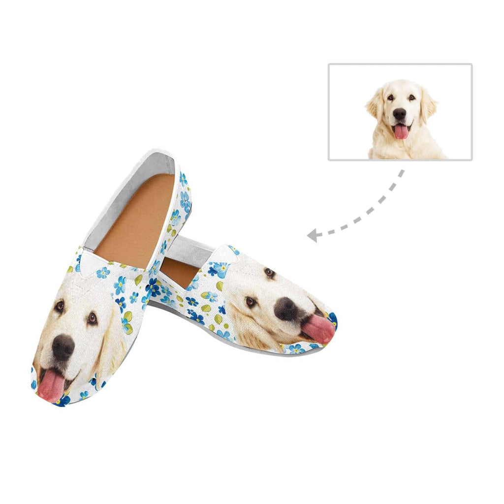 Custom Dog Women's Casual Shoes