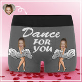 Custom Face Dance For You Men's All-Over Print Boxer Briefs