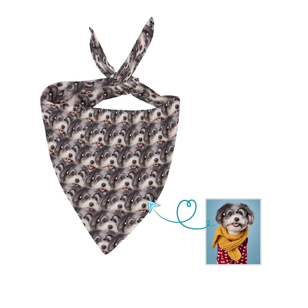 Custom Dog Intensive Face Pet Bandana