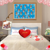 Custom Face My Love Wooden Photo Puzzle 500/1000 Pieces