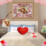 Custom Photo Love Wooden Photo Puzzle 500/1000 Pieces