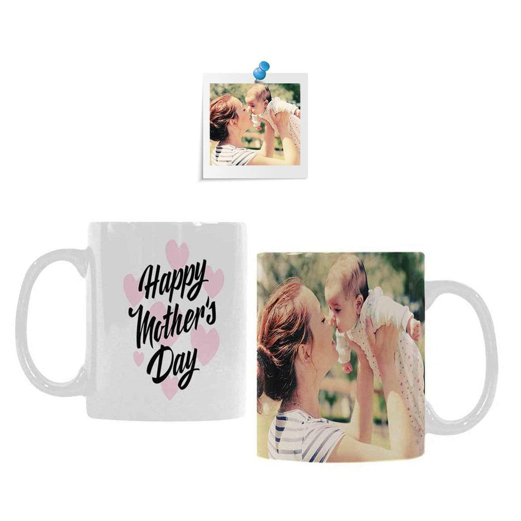 Custom Photo Mother's Day Classical White Mug