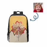 Custom Baby Face Pencil Flower School Bag