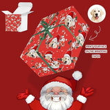 Custom Face Pet Christmas Candy Gift Wrapping Paper