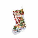 Custom Face Hello Christmas Stocking