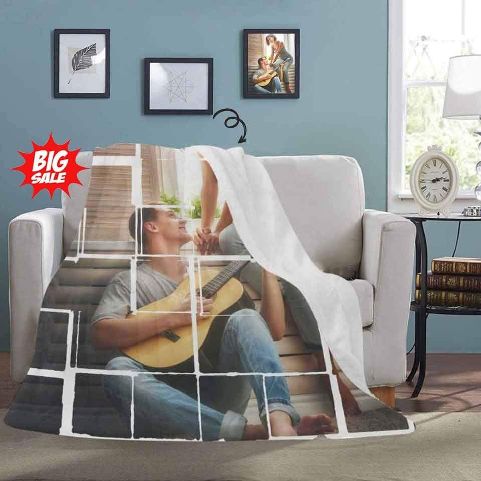 Custom Photo Windowsill Ultra-Soft Micro Fleece Blanket