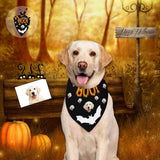Custom Face My Boo Halloween Pet Bandana