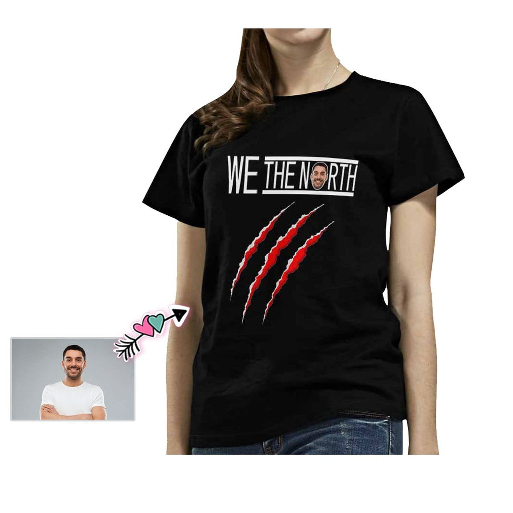 Custom Face We The North Women's All Over Print T-shirt