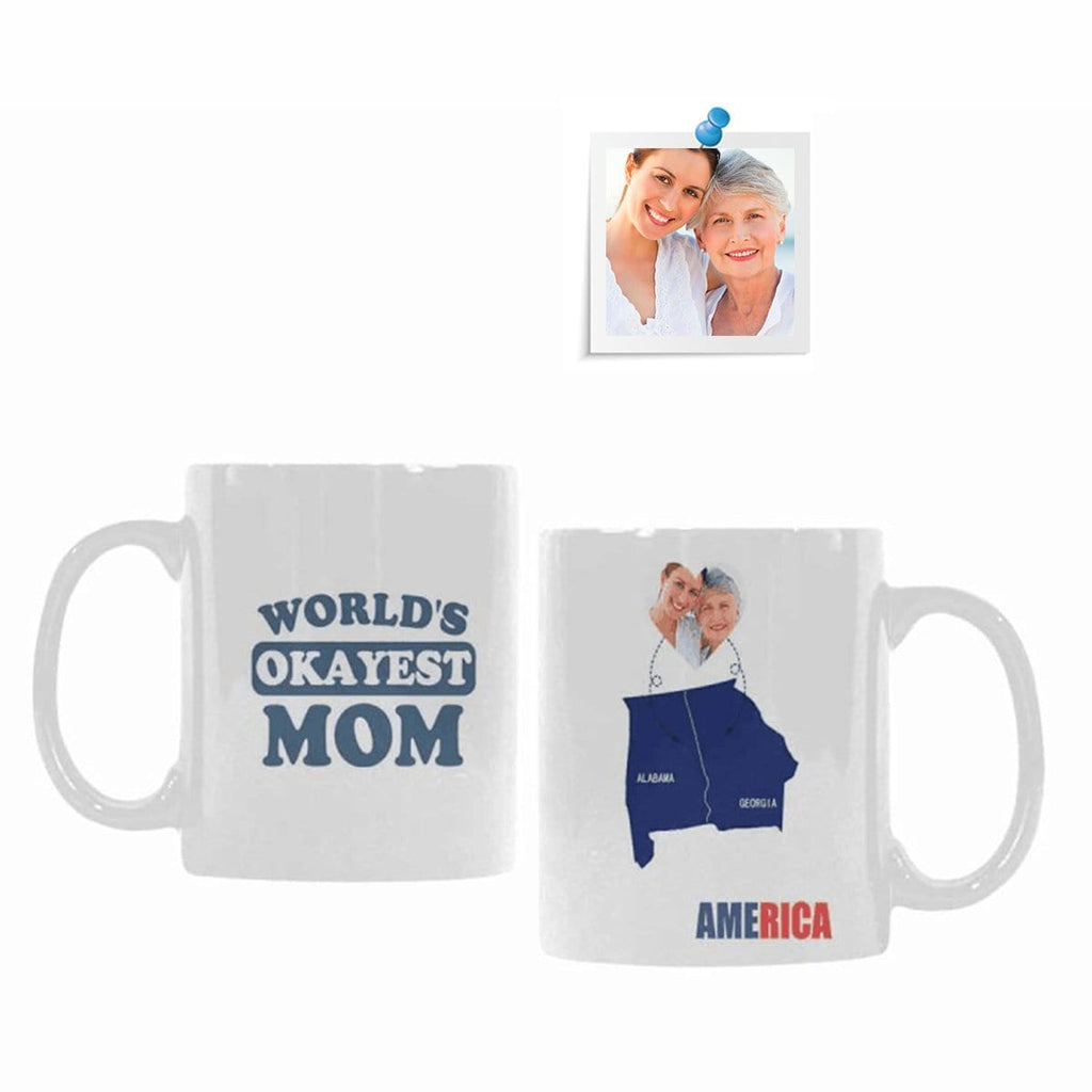 Custom Photo World Classical White Mug