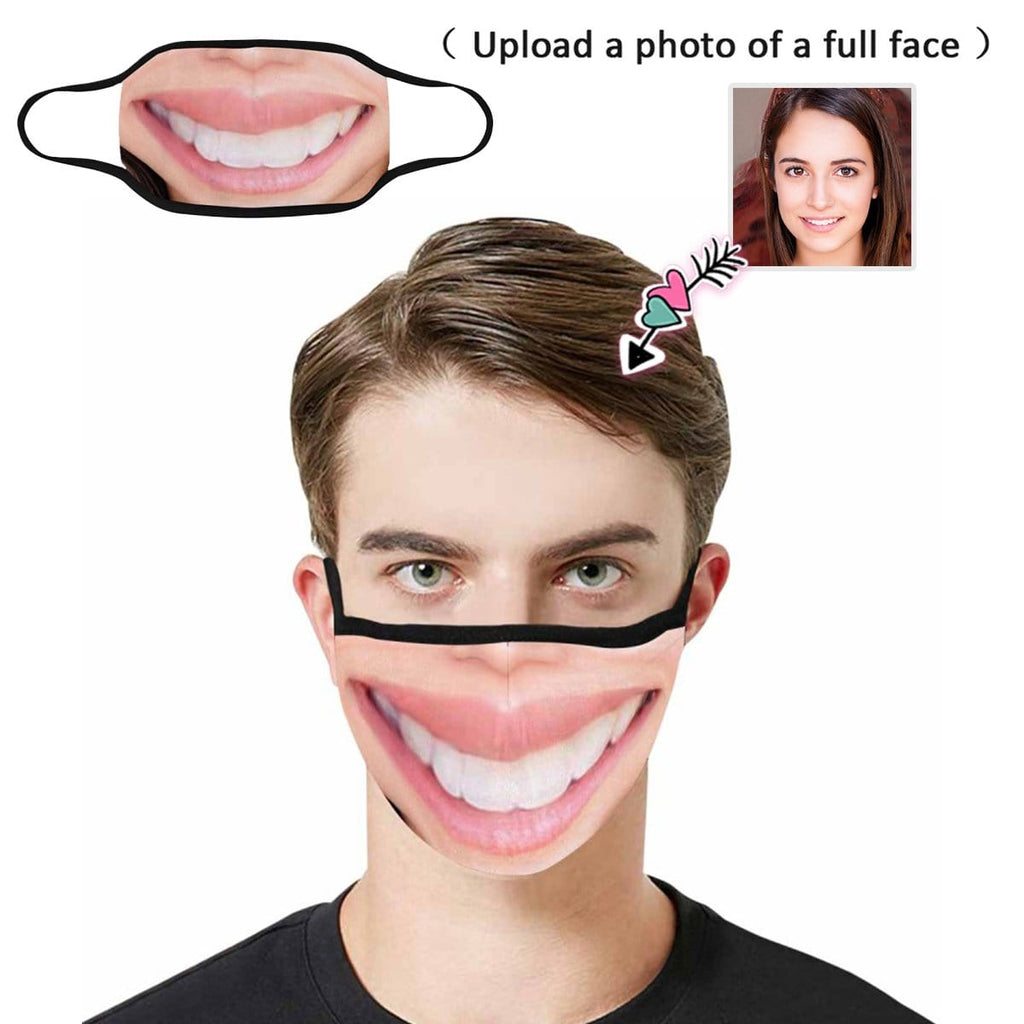 Custom Face Bigger Mouth Fabric Mouth Mask