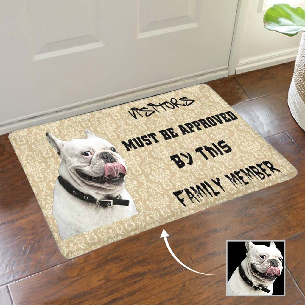 New Home Gift, Housewarming Gift for Home, Custom Dog Face Doormat, Personalized New Doormats