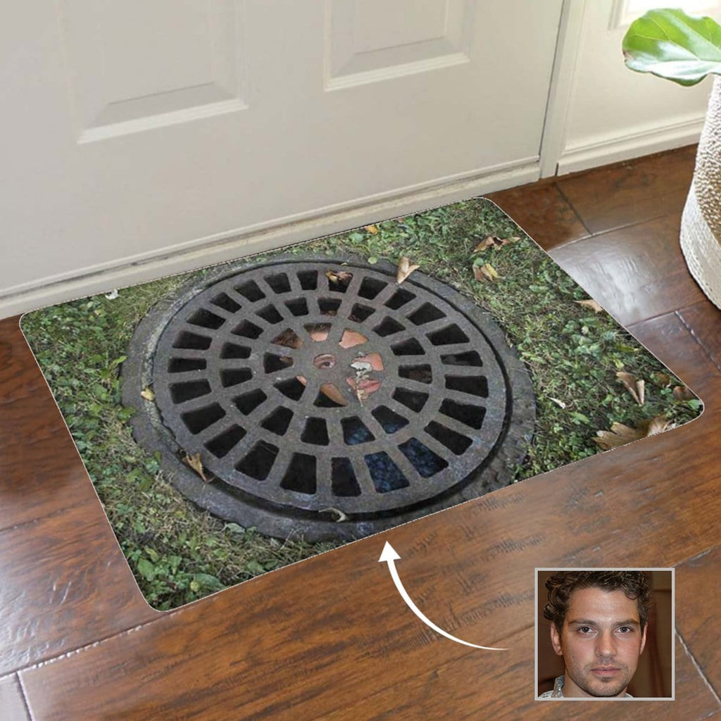 Custom Face Manhole Cover Doormat