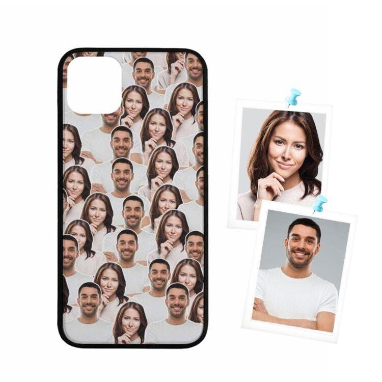 Custom Face Couple Rubber Case for Iphone