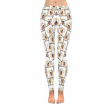 Custom Dog Photo Low Rise Leggings