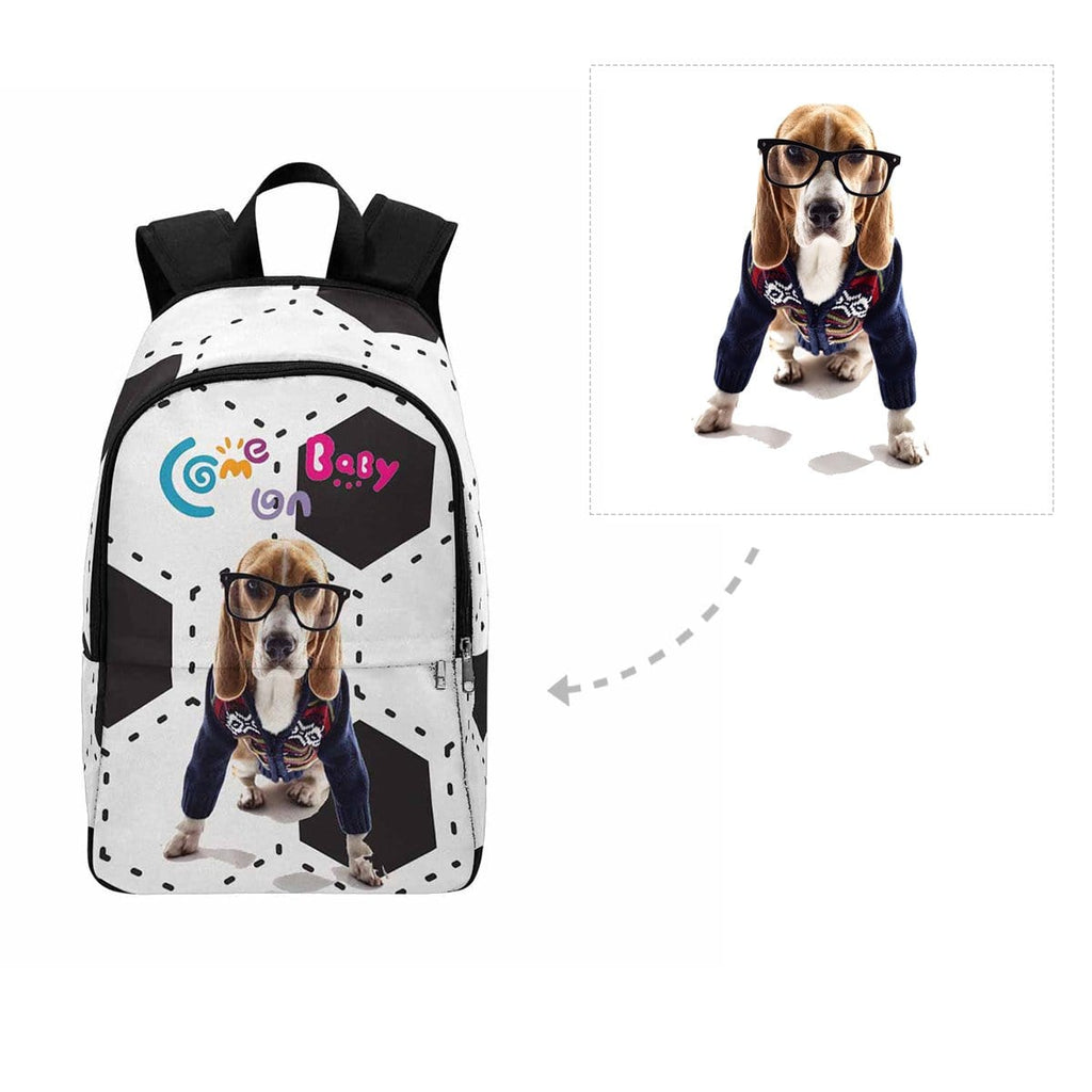 Custom Funny Pup Backpack