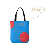 Custom Name&Text Canvas Tote Bag