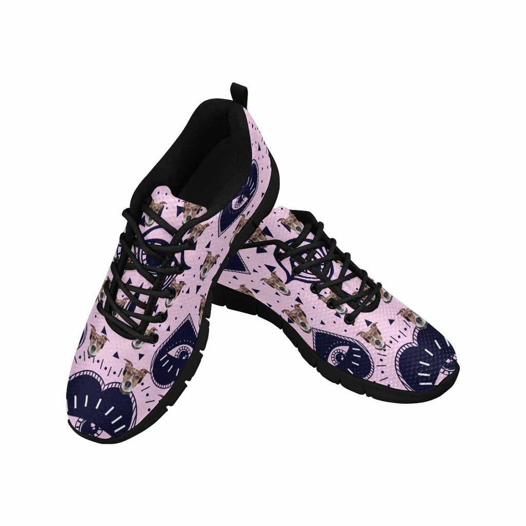 Custom Dog Face Lover's Tears Women's Running Shoes
