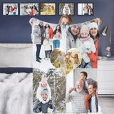 Custom Photo Our Love Forever Ultra-Soft Micro Fleece Blanket