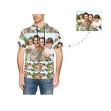 Custom Photo Men's Short Sleeve Hoodie