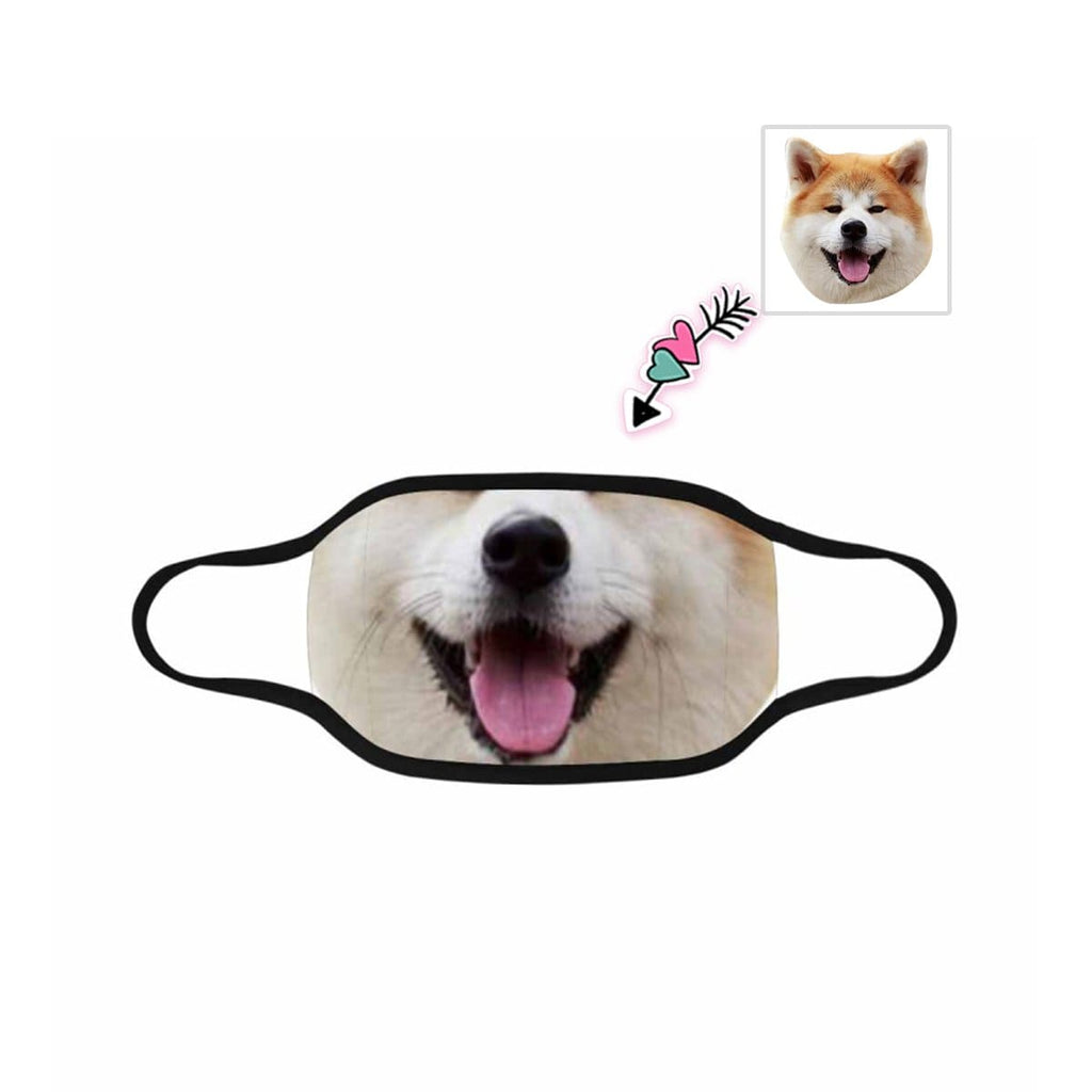 Custom Photo Pet Mouth Mask Washable Reusable