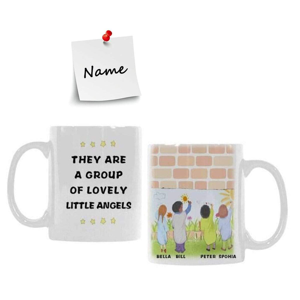 Custom Name They Are A Group Classical White Mug