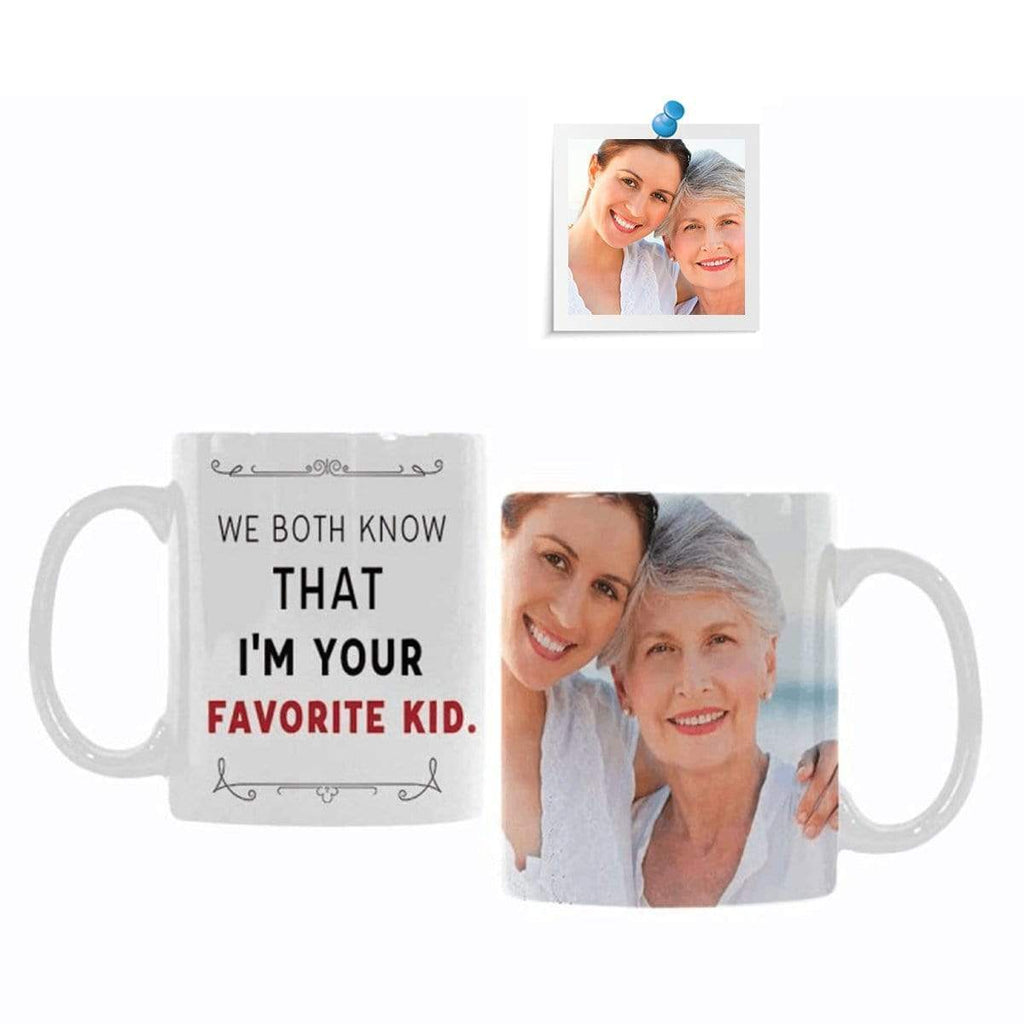 Custom Photo I'm Your Favorite Kid Classical White Mug