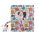 Custom Photo Love Quilt