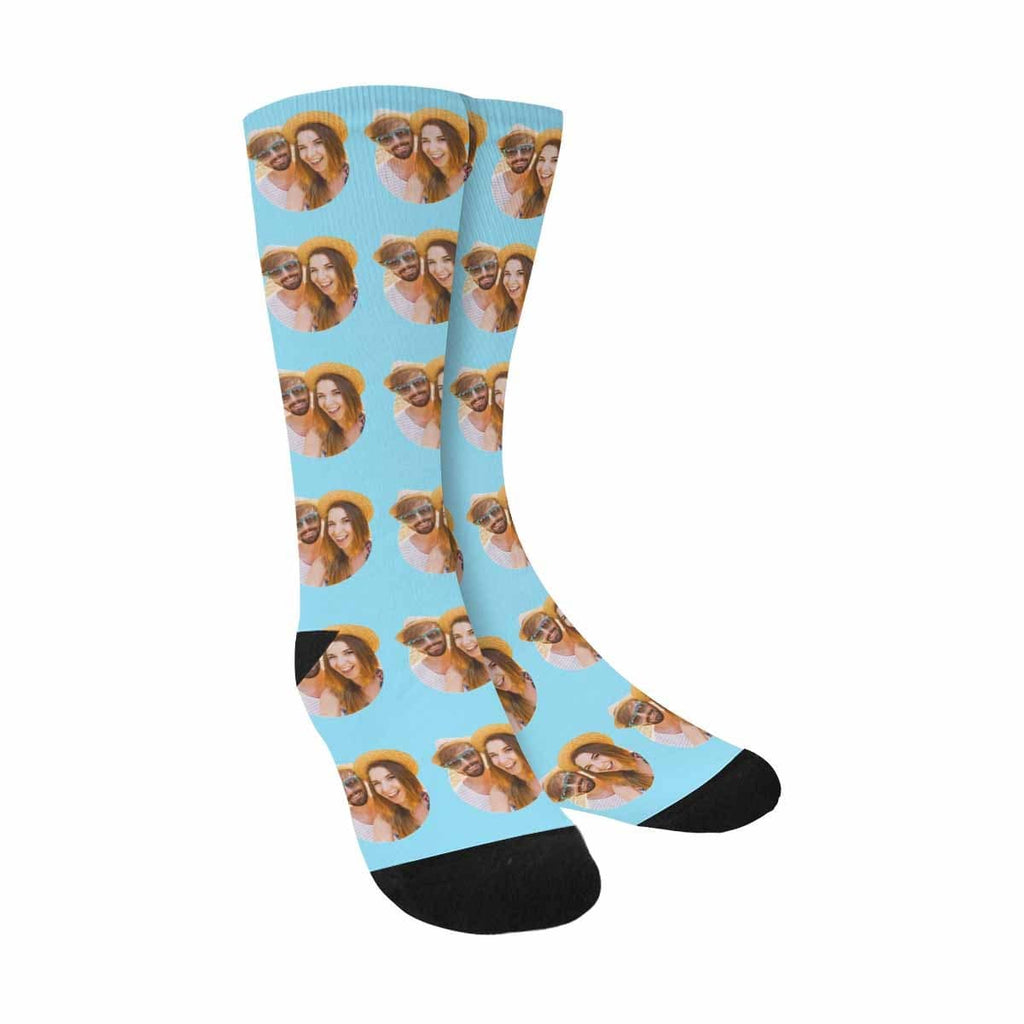 Custom Photo All We Heart Sublimated Crew Socks