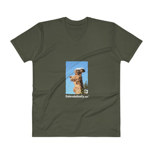 ColoradoGoofy Unisex V-Neck T-Shirt