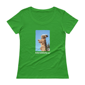 ColoradoGoofy Ladies' Scoopneck T-Shirt