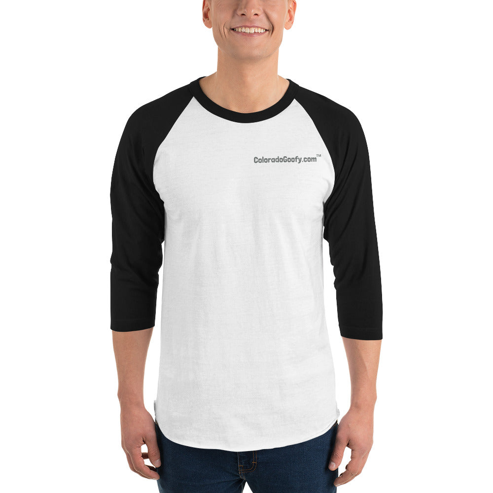 ColoradoGoofy 3/4 sleeve raglan shirt