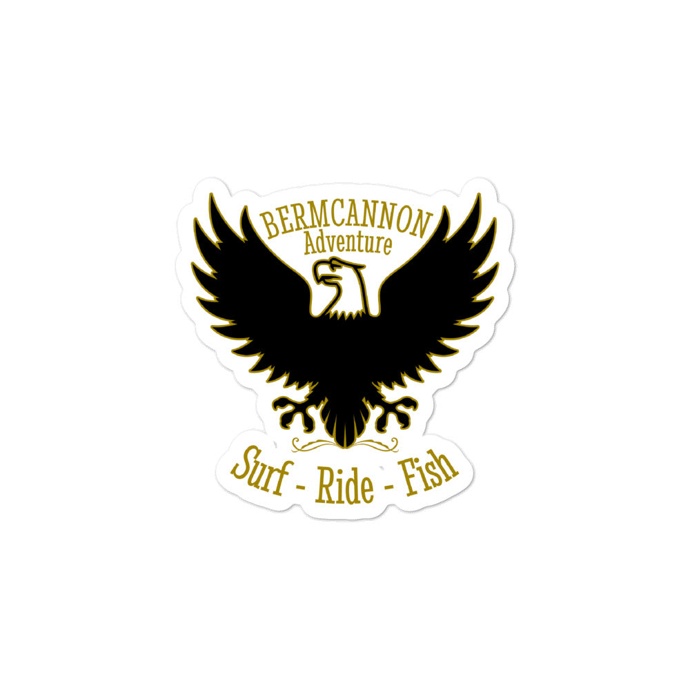 Bermcannon Eagle Sticker