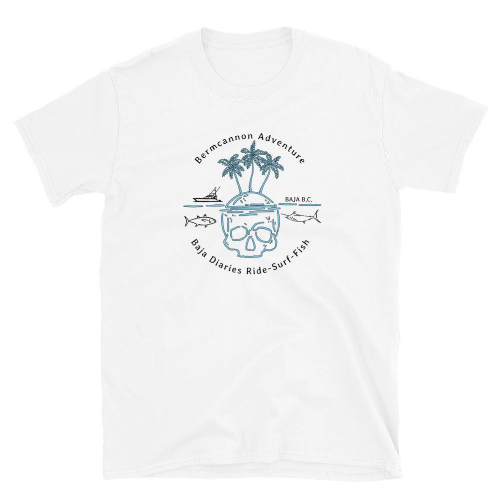 RIde Surf Fish Short-Sleeve Unisex T-Shirt