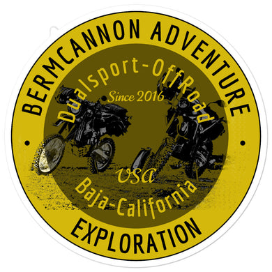 Bermcannon Club Stickers